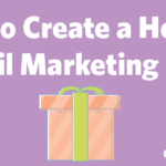 Holiday Email Marketing Plan Header