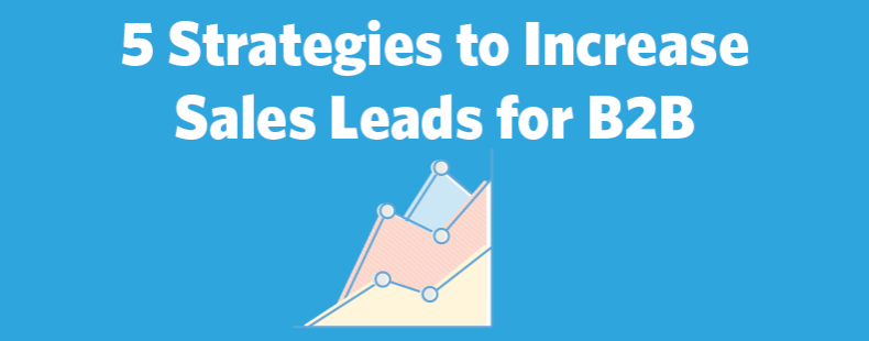 5 Strategies to Increase Sales Leads for B2B