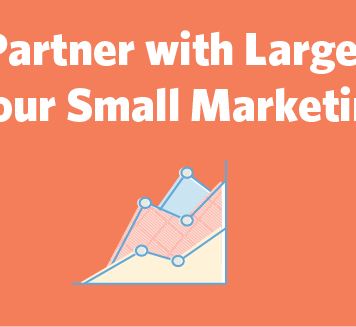 Partner with large brands to grow your business.