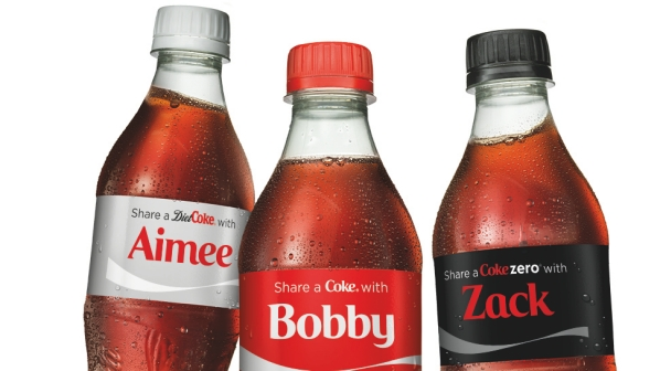 Personalization helps Coke increase their sales dramatically