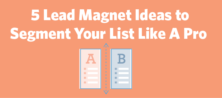 5 Lead Magnet Ideas to Grow Your Email List Like A Pro