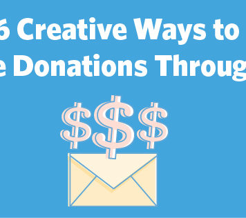 Creative ways to increase donations