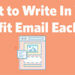 What you write in your email every month is as important as the design