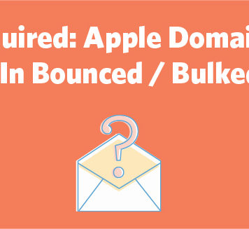Apple Domains Update Results In Bounced / Bulked Emails