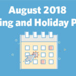 August 2018 Marketing and Holiday Planning