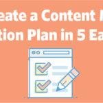 Content Marketing Distribution Plan