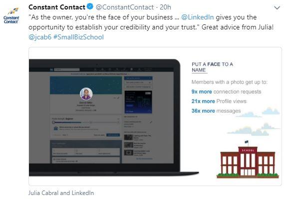 LinkedIn Live Tip