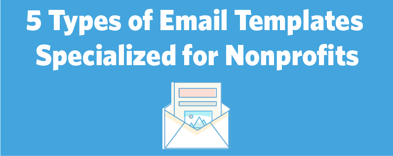 Nonprof email templates