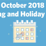 October 2018 Marketing and Holiday Planning