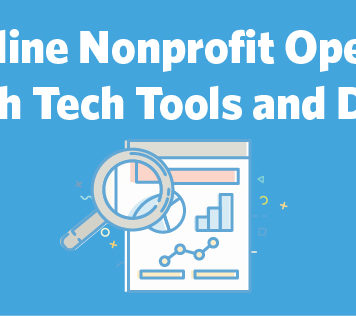 Streamline Nonprofit Operations with Tech Tools and Data