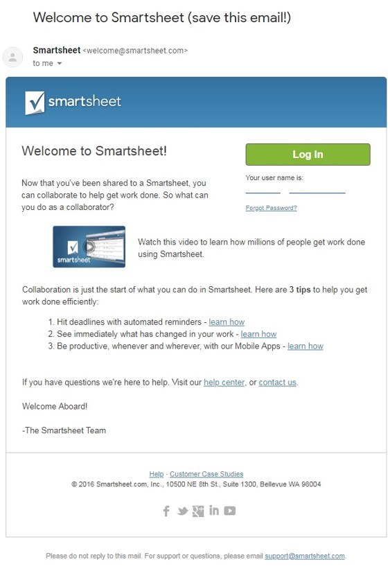 onboarding drip email