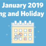 January 2019 Marketing and Holiday Planning