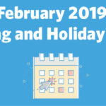 February 2019 Marketing and Holiday Planning