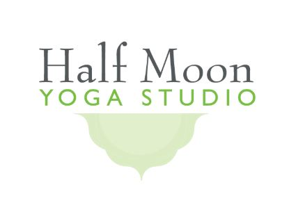 Half Moon Yoga Logo