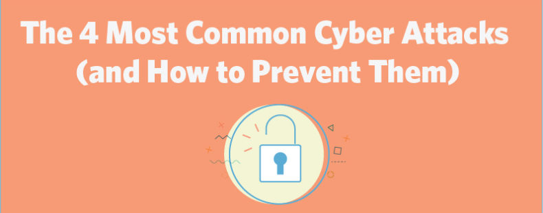 The 4 Most Common Cyber Attacks (and How to Prevent Them)