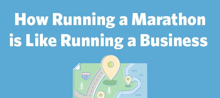 How Running a Marathon is Like Running a Business