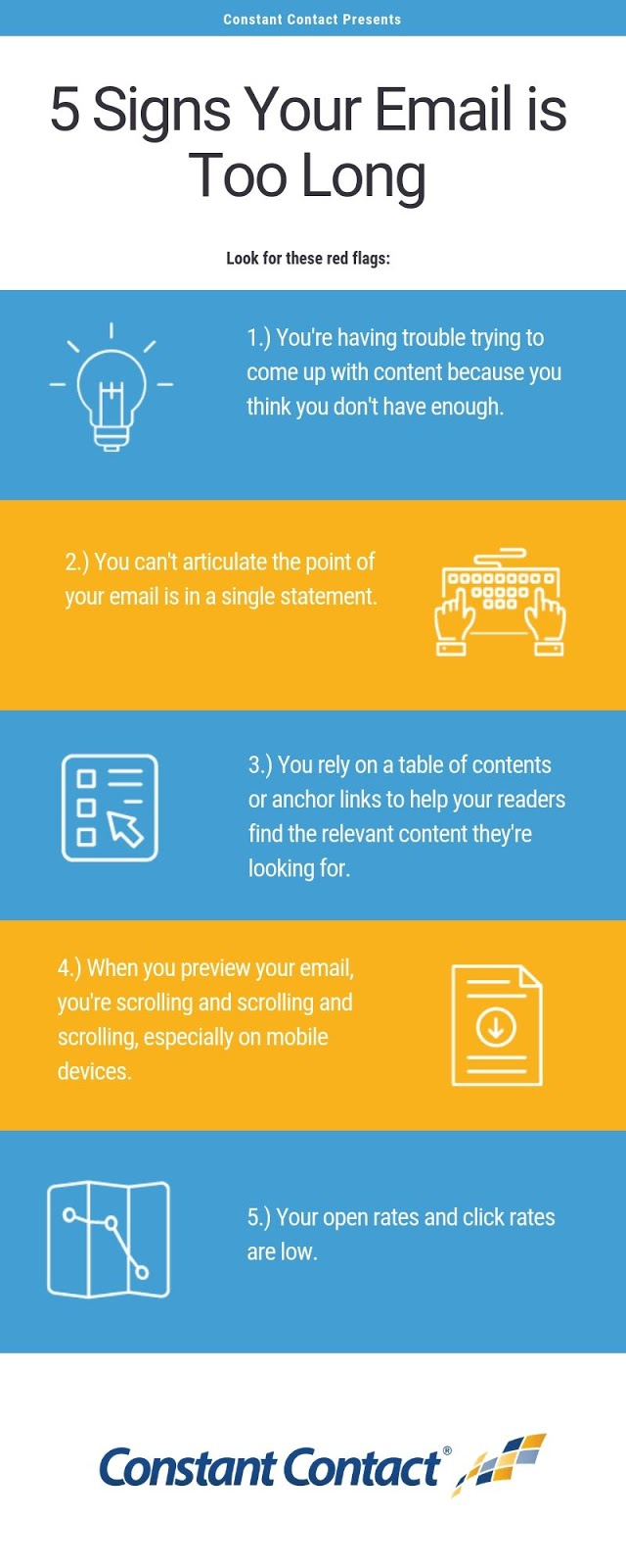 How Long Should A Marketing Email Be Constant Contact