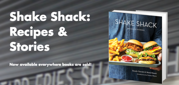 Book example: Shake Shack's Recipe's & Stories