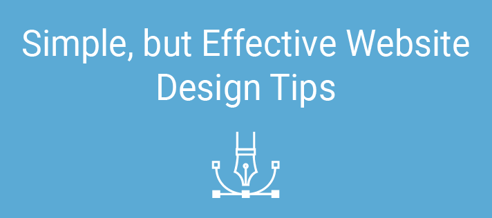 Simple, but Effective Website Design Tips