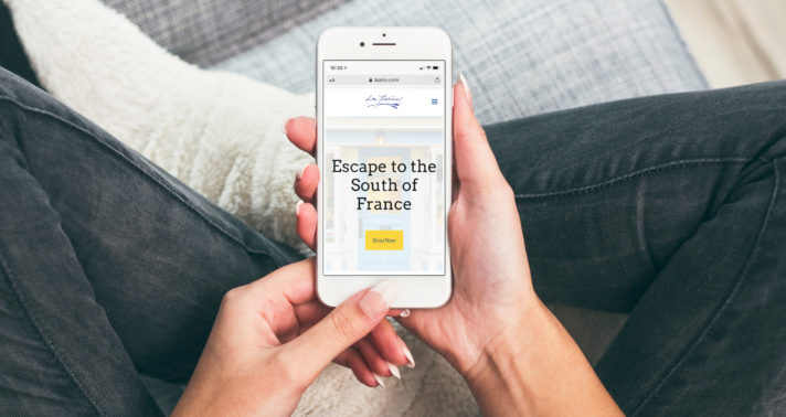 The Download in Action: A Mobile-Friendly Retail Website