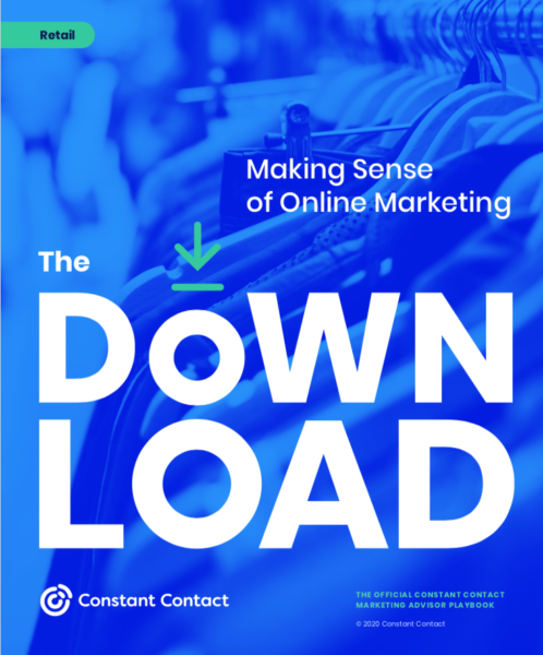 Cover of our free retail marketing guide.