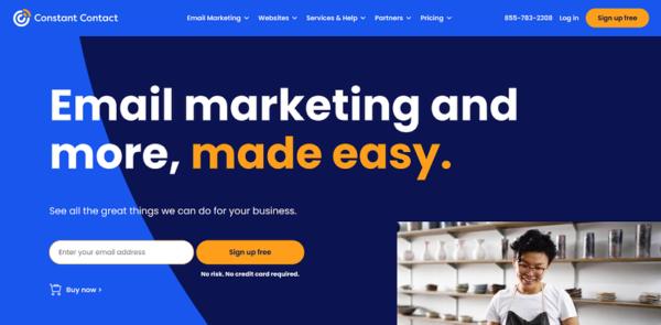 financial services website design