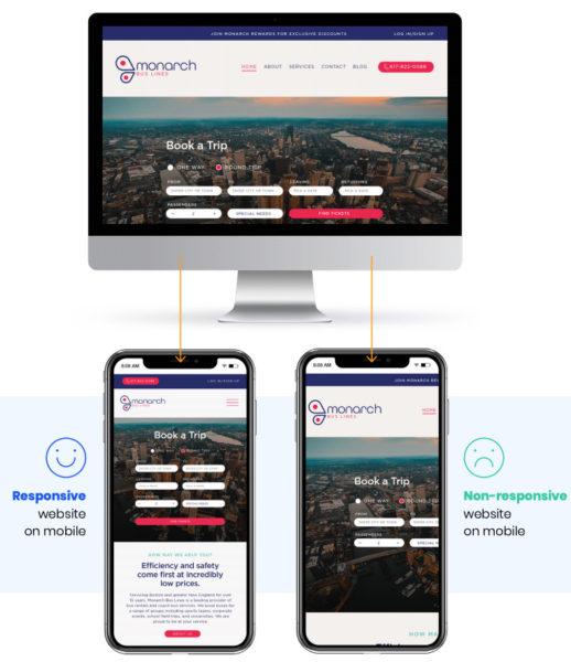 Marketing website for transportation and logistics