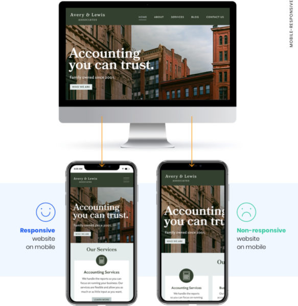 mobile-responsive lawyer website