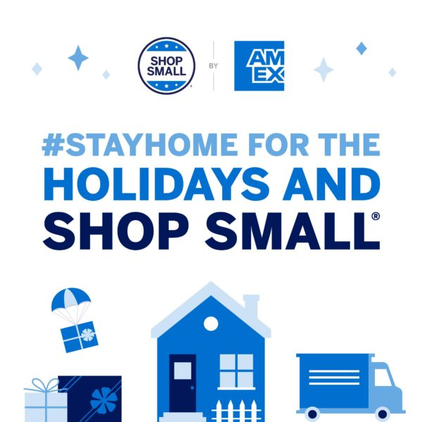 Shop small - Small Business Saturday Graphic