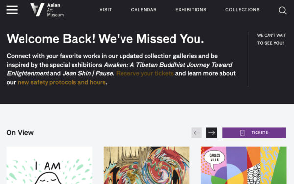 Asian Art Museum website
