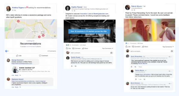 examples of financial advisor value proposition social posts