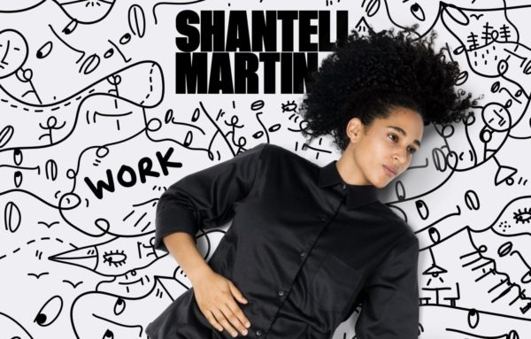 Artist Website example  of clean design, interactivity and clear CTAs - Artist: Shantell Martin