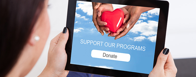 examples of how to ask for donations