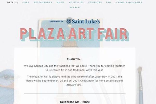 Saint Luke's Plaza Art Fair