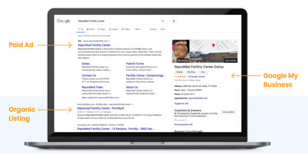 healthcare advertising strategy - Use Google Ads to move your business to the top of the SERPs