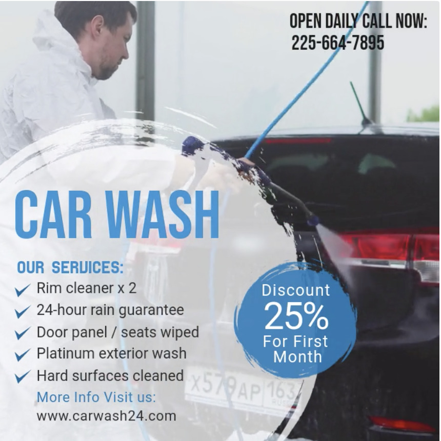 7 Car Wash Sign Ideas, Plus Marketing Do's and Don'ts