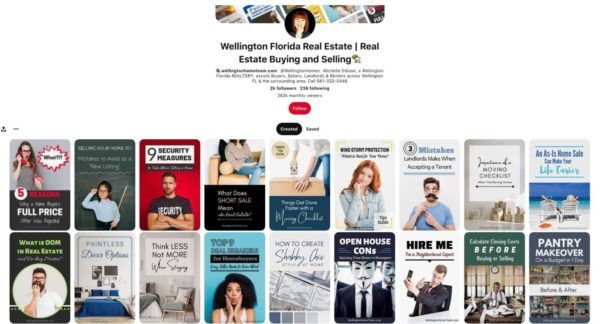 Pinterest real estate