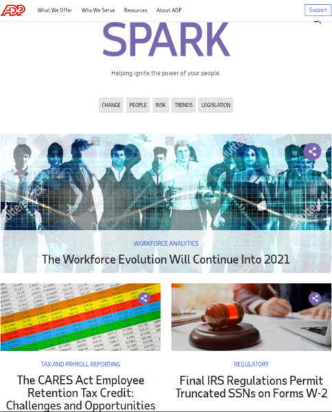 blog examples - SPARK by ADP