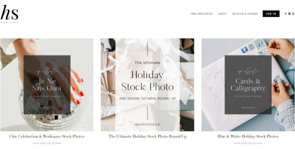 blog examples - Haute Stock