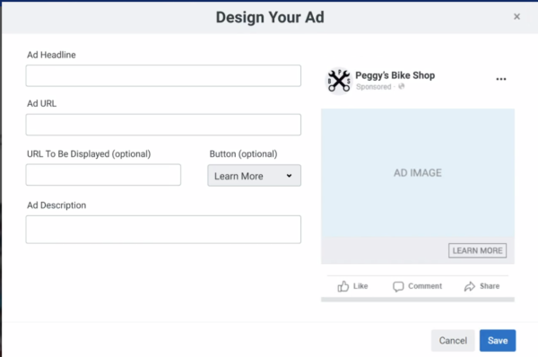 healthcare marketing strategy - Facebook ads