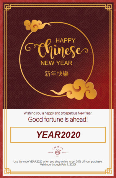 Holiday Email Templates -  Chinese New Year