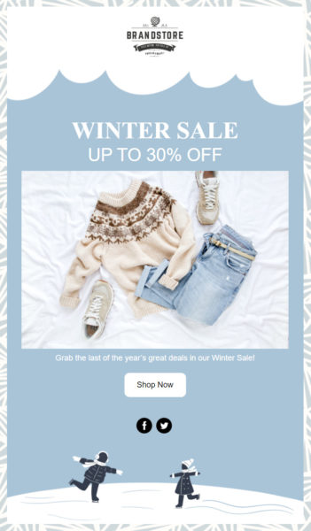 Holiday Email Templates - Winter Season