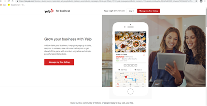 Marketing for accounting firms should always include claiming your business on Yelp