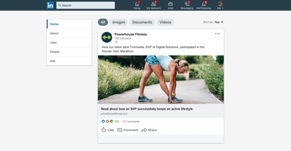 personal training marketing includes building an online community through social media