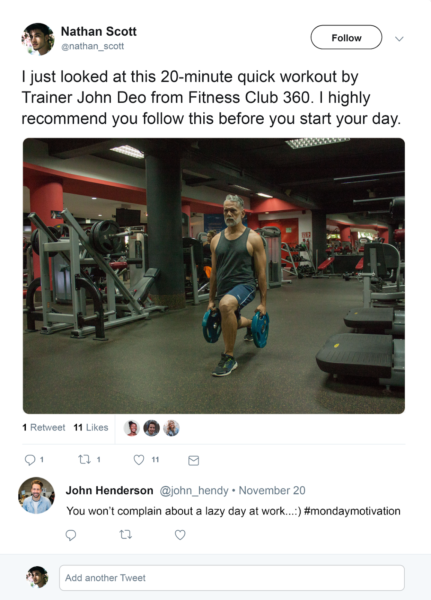 fitness social media marketing may include using influencers