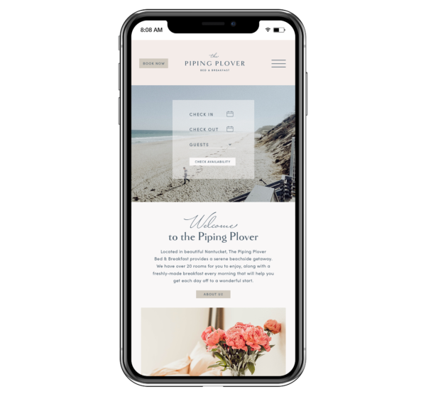 boutique hotel marketing plan  includes a  mobile-response website to view on cell phones and other mobile devices