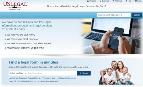 "Lawyer Directories - list of 20 directories - ""US Legal"" homepage"