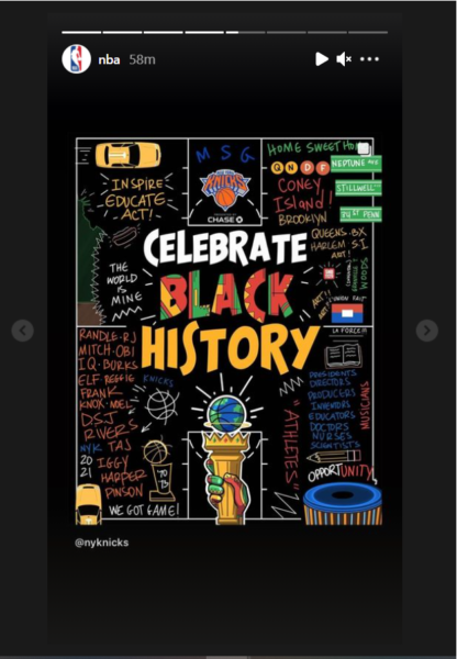 Social Media in Sports Marketing - NBA celebrating Black History Month on Instagram