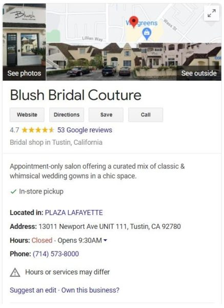 add images of your business and location