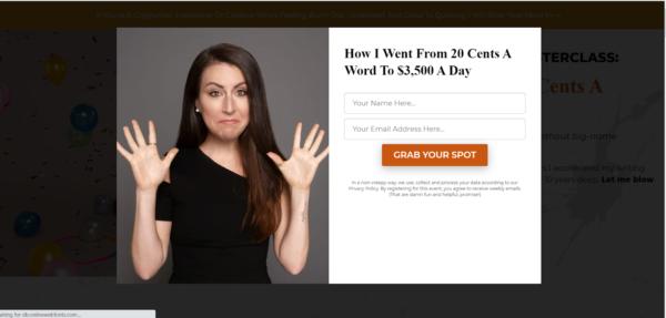 Lead Magnet - free webinar